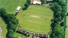 Cricketstadion in Amsterdamse Bos