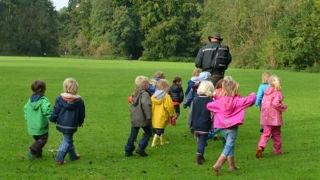 Kinderfeestje amsterdamse bos