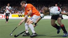 Hockey at the Sportpark in the Amsterdamse Bos