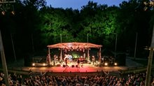 Live at Amsterdamse Bos concert in het Bostheater.